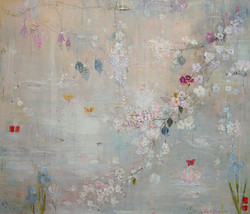 White Blossom & Iris