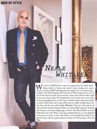Men of Style, Neale Whitaker