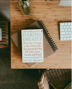 Book daring Greatly, photo by Jen Carrington