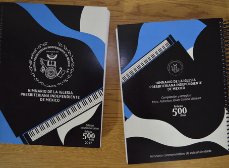 Edición Conmemorativa Limitada del Himnario de la IPIM totalmente vendido!!!