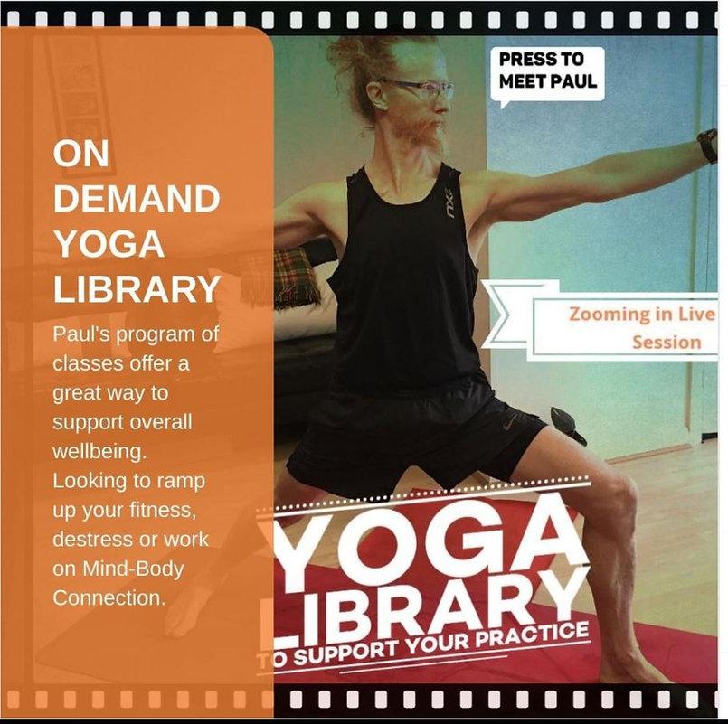 Ondemand Yoga Library Online - Advert 1.