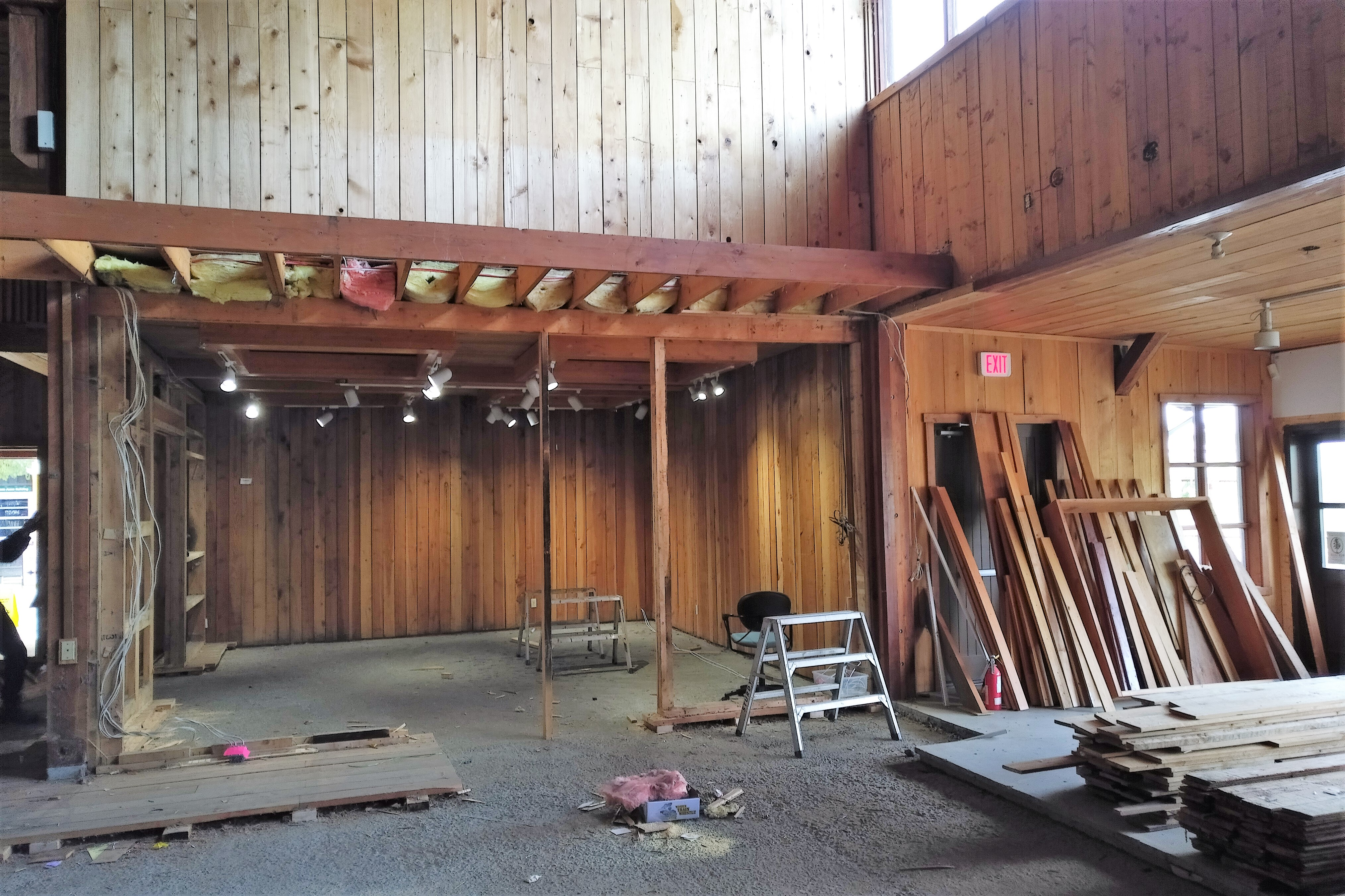 Emperor Homes Ltd. – Forest Forever Project at the BC Forest Discovery Centre – Demolition