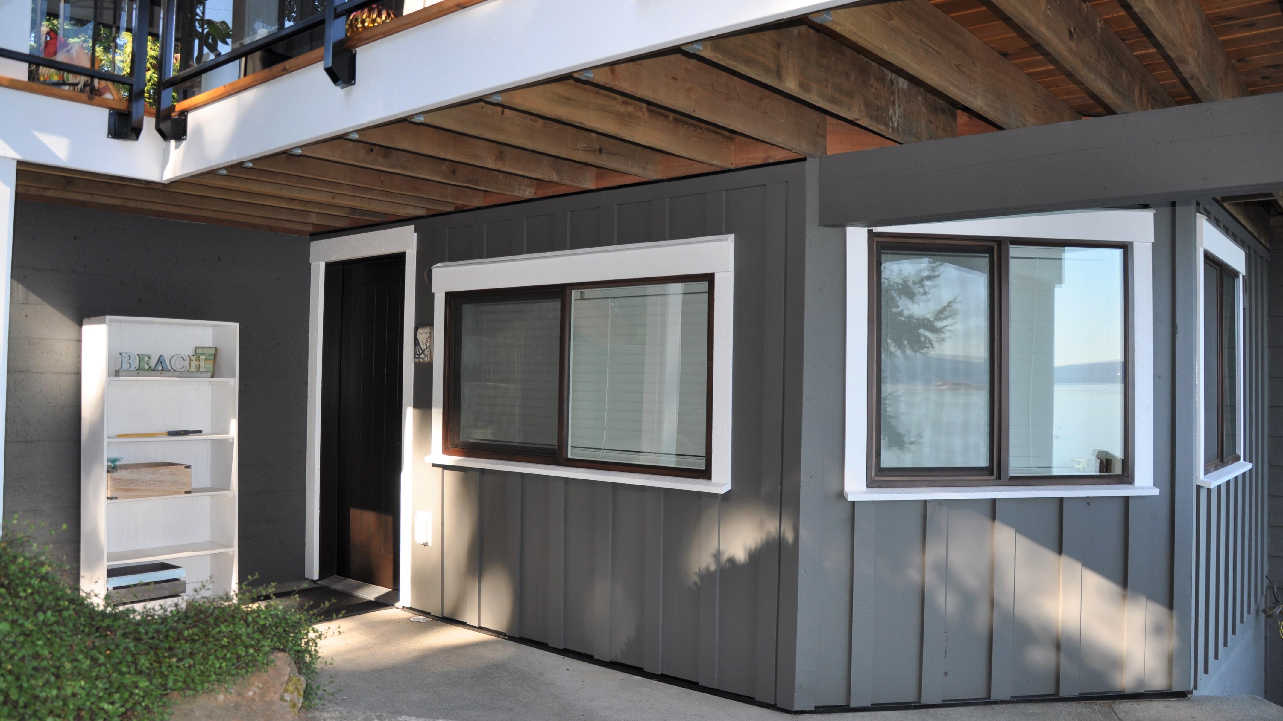 Emperor Homes Ltd - Bare Point Custom Renovaton Phase 2 - Basement Exterior