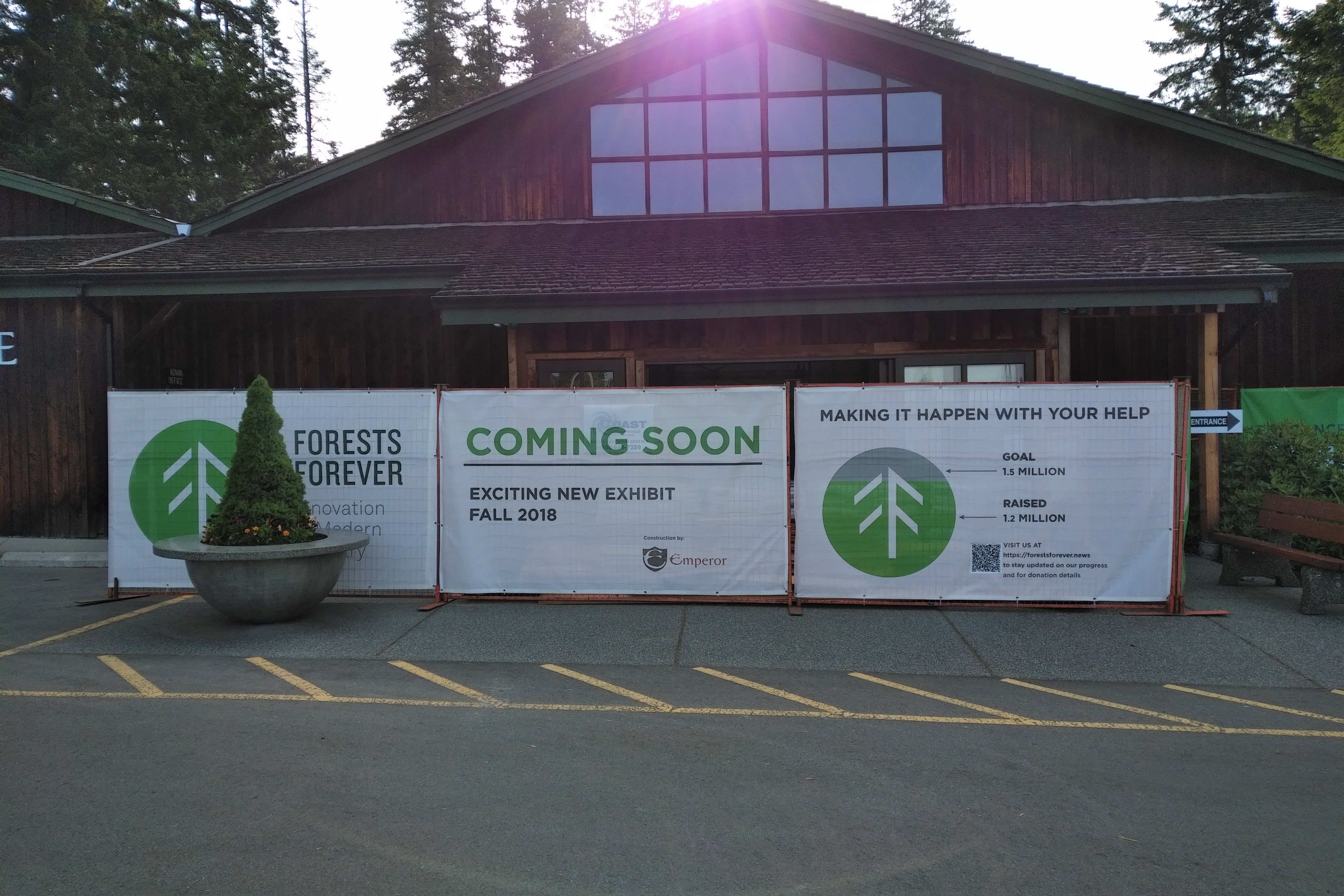 Emperor Homes Ltd. – Forest Forever Project at the BC Forest Discovery Centre