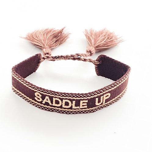 Saddle Up Woven Bracelet