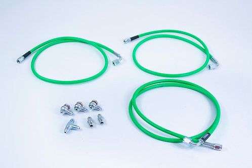 Universal Pull Back Handbrake Dual Caliper Line Kit