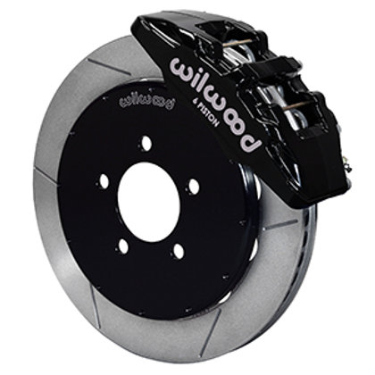 Wilwood Dynapro 6 Big Brake Kit FRONT w/ Slotted Rotors Mazdaspeed 2007-2013