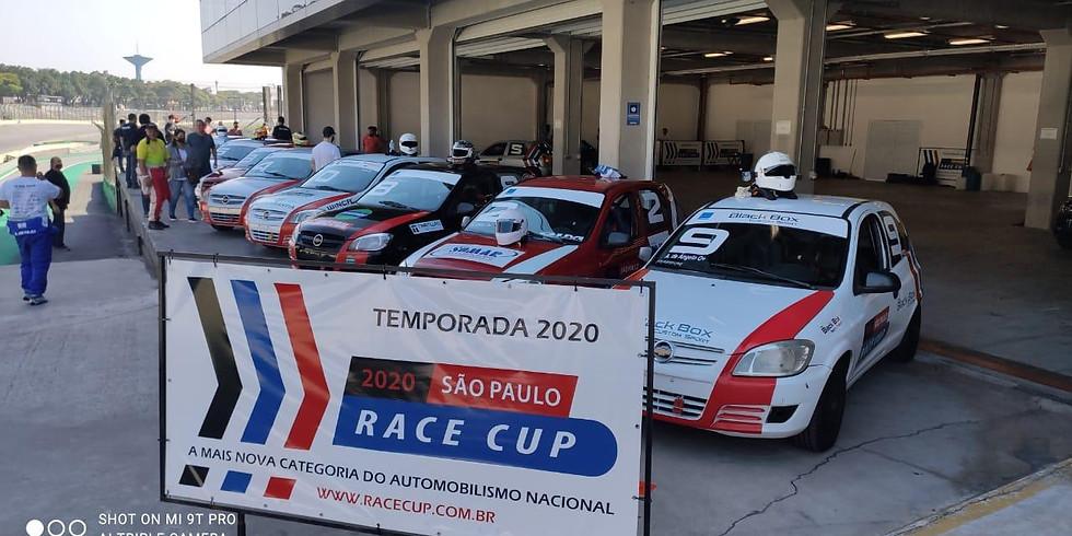 Treine com a Race Cup