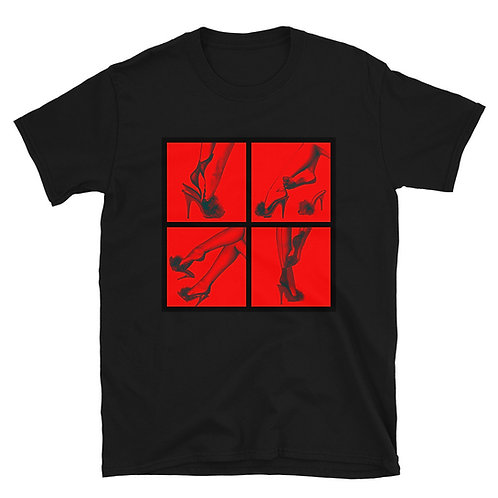 Red. Short-Sleeve Unisex T-Shirt