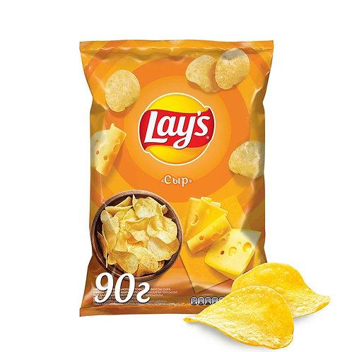 Чипсы Lays с сыром 90 Гр