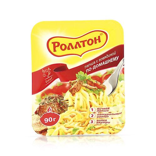 Лапша Роллтон говядина 90 Гр