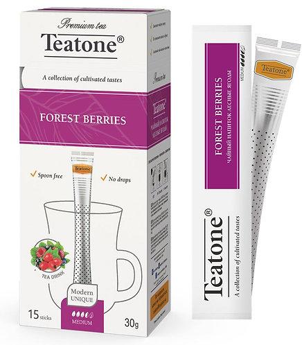 Чай фруктовый лесные ягоды Teatone в стиках 15 шт