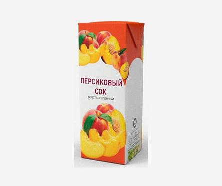 Сок персиковый 0.2 ООО Нектар
