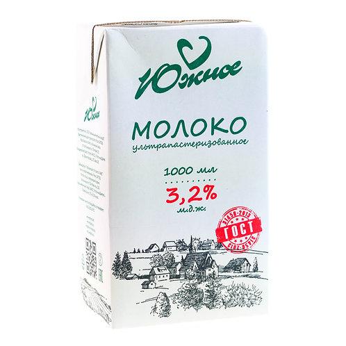 Молоко Южное 3.2 % 1 л