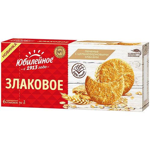 Печенье Юбилейное цельные злаки 171 Гр