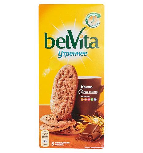 Печенье BELVITA Утреннее с какао 225 Гр