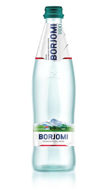 Минеральная вода Borjomi стекло 0.5 л