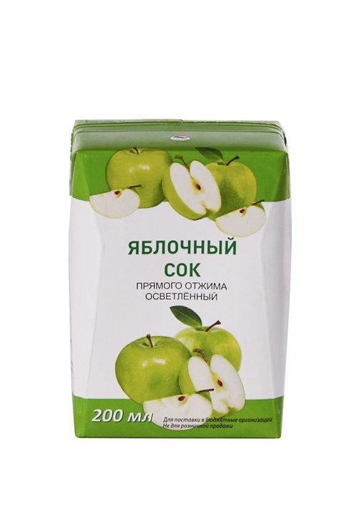 Сок яблочный 0.2 ГОСТ ООО Нектар