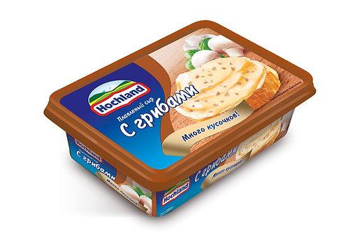 Сыр плавленный Hochland с грибами 200 Гр