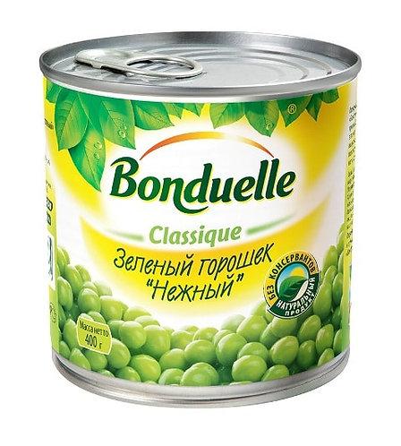 Горошек зеленый нежный Bonduelle 400 Гр