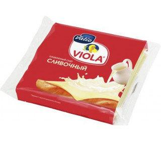 Сыр плавленый VIOLA сливочный 140 Гр