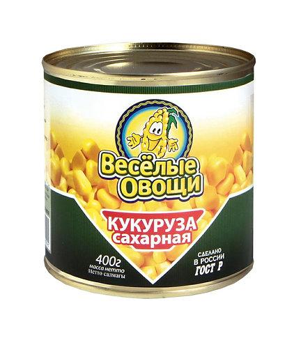 Кукуруза сладкая Веселые овощи 400 Гр