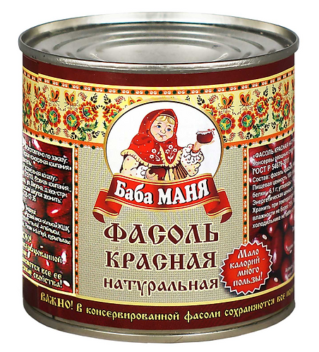 Фасоль красная Баба Маня 420 Гр