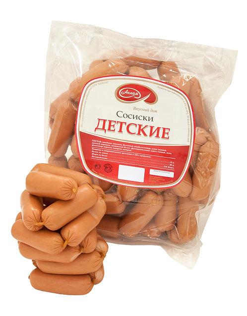 """Сосиски """"Детские"""" Анком 1 кг"""