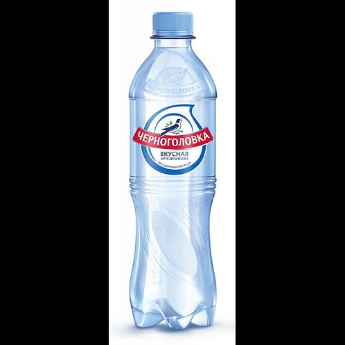 Вода без газа Черноголовка 0.5