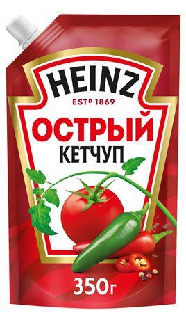Кетчуп острый Heinz 350 Гр
