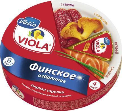 Сыр плавленный Viola треугольнички финское избранное 130 Гр