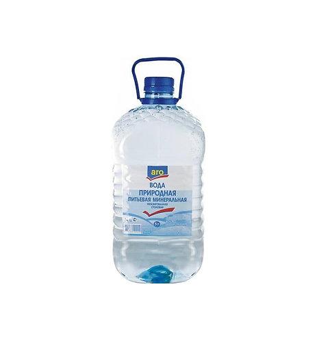 Вода питьевая негазированная Aro 5 л