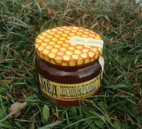 Мед разнотравье 500 Гр