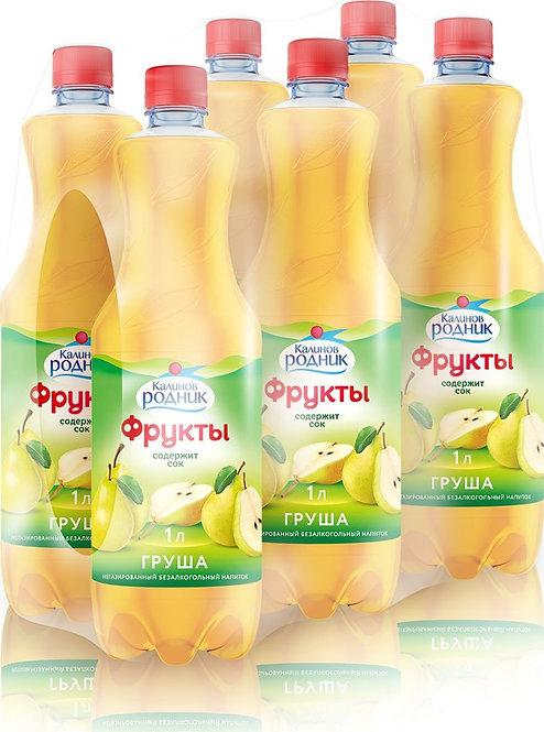 Напиток сокосодержащий Калинов родник груша 1 л