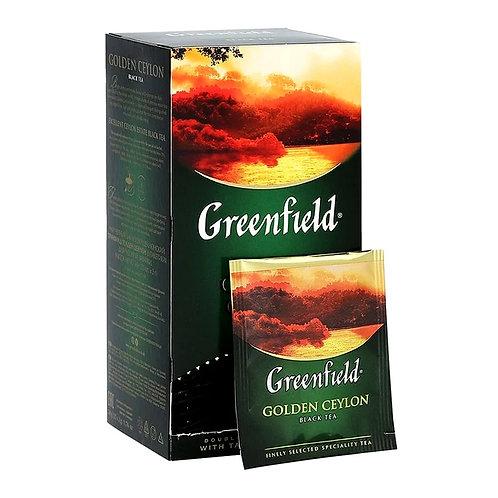 Чай черный Greenfield  Golden Ceylon 25 пакетиков