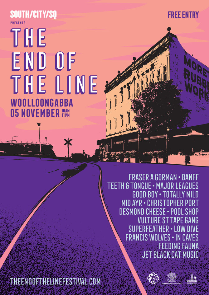 THE END OF THE LINE FESTIVAL  FINAL LINEUP ANNOUNCEMENT THREE WEEKS TO GO