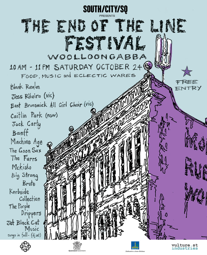 The End of the Line Festival announces an impressive live music line-up with only 6 weeks to go