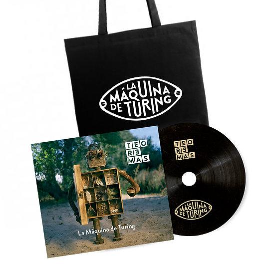 EP + Tote Bag negra