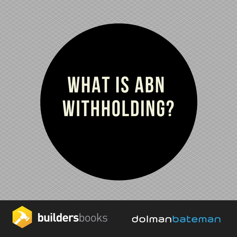 what is ABN withholding