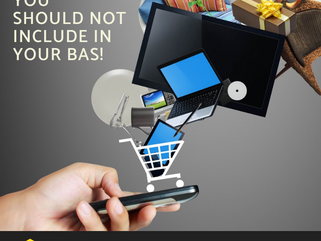 Purchases you should NOT include in your BAS!