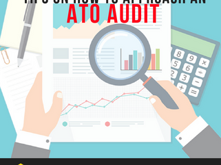 Tips on how to approach an ATO audit!