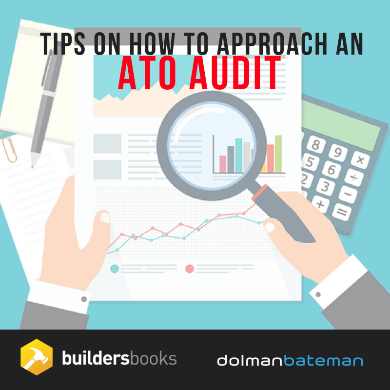 tips on how to approach and ato audit