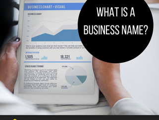 What is a business name?