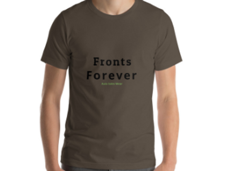 Fronts Forever Car Sales Auto Sales Wear Tshirt