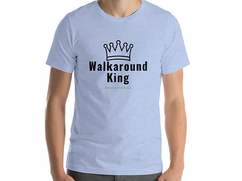Walkaround King Car Sales Shirt Auto Sales Wear Tshirt