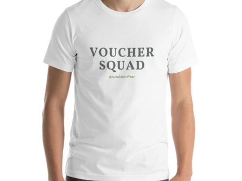 VOUCHER SQUAD Car Sales Auto Sales Wear Tshirt