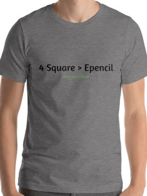 4 Square Greater than Epencil