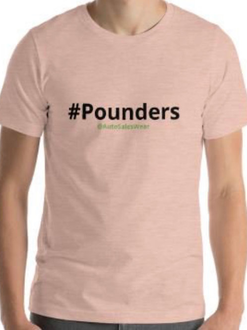 Pounders Car Sales Shirt Auto Sales Wear