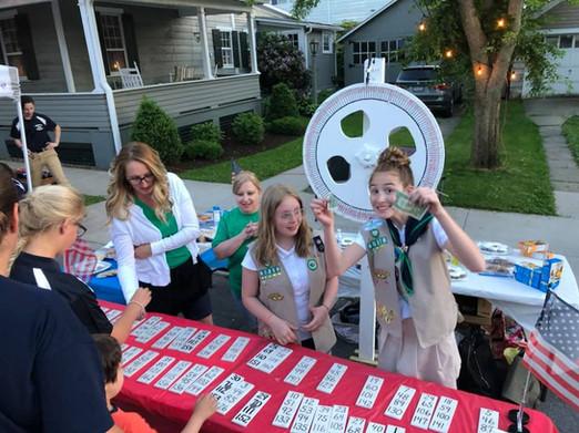 Girl Scout Cake Wheel