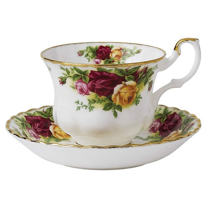 Royal Albert Old Country Roses Teacup & Saucer Set